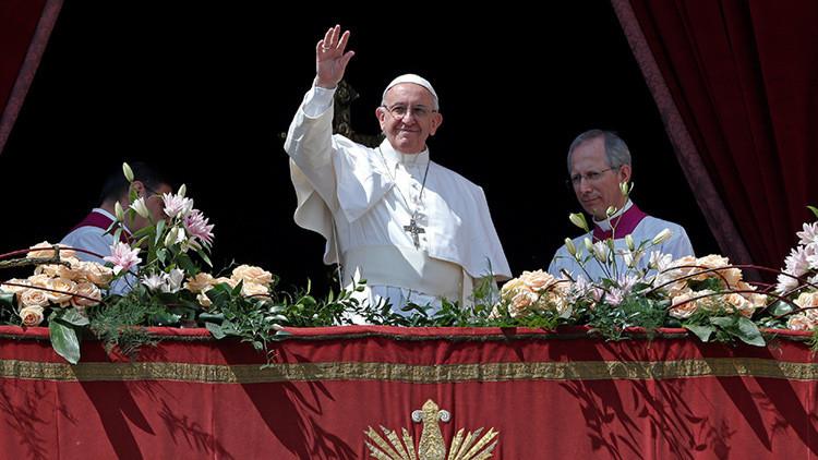 El papa Francisco oficia la misa de Pascua en el Vaticano (VIDEO)