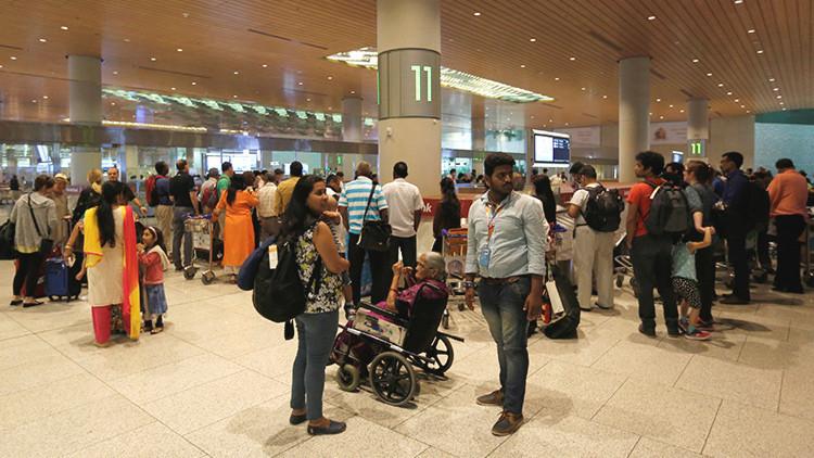 Una alerta por secuestros aéreos cierra tres aeropuertos en la India