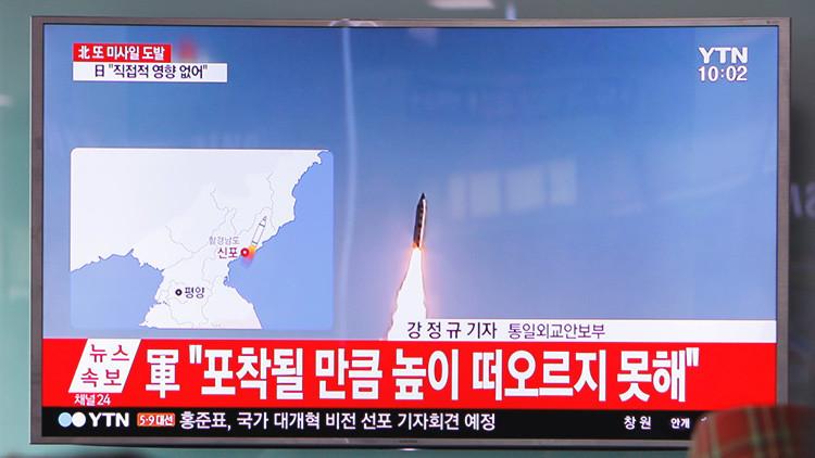 """""""Es un proceso ordinario, no tiene nada de sorprendente"""": Pionyang comenta el lanzamiento del misil"""