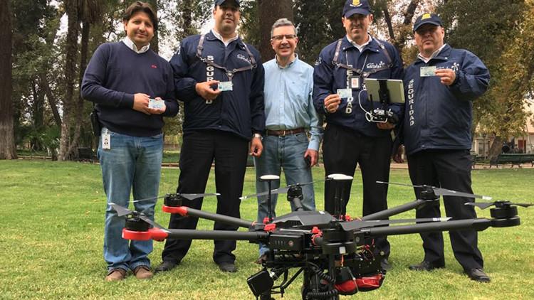 Drones centinelas: Chile combatirá la inseguridad con innovador sistema de vigilancia (VIDEO)