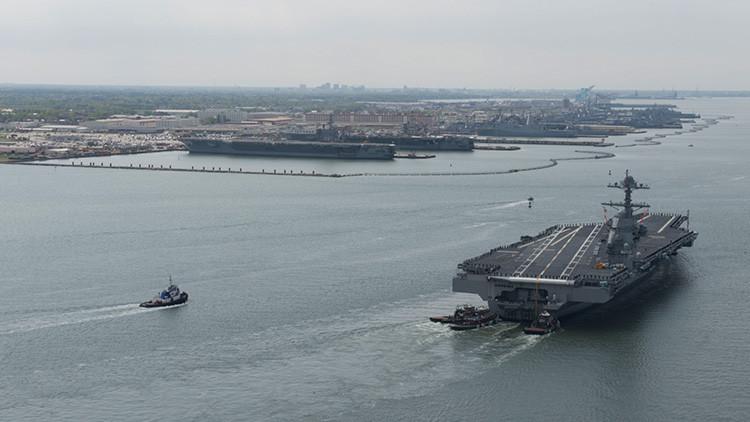 """EE.UU. """"está haciendo ver su fuerza"""" y enviará tres portaaviones a la península coreana"""