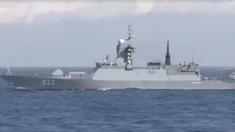 VIDEO: Reino Unido detecta y escolta a dos corbetas rusas en el Canal de la Mancha