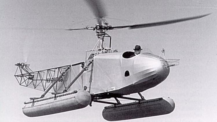 75 años del VS-300 de Ígor Sikorski, el primer helicóptero anfibio en vuelo (video)