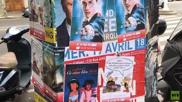 """""""No inicies el camino oscuro"""": El maestro Yoda pide no votar a Le Pen"""