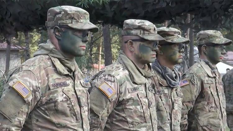 VIDEO: Las maniobras militares de la OTAN reúnen a cientos de soldados en Letonia