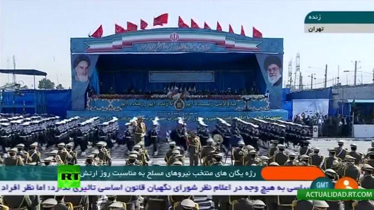 VIDEO: Irán celebra el Día del Ejército con un desfile militar