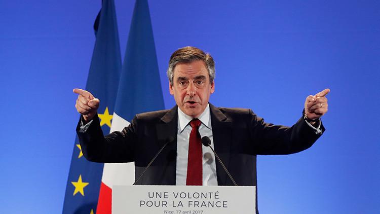 """François Fillon, candidato presidencial francés : """"La actitud de Trump es un peligro para la paz"""""""