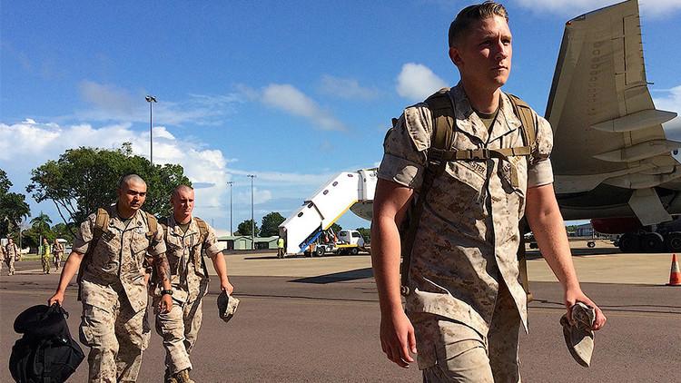 EE.UU. despliega en Australia el mayor contingente de la historia para luchar contra Pionyang