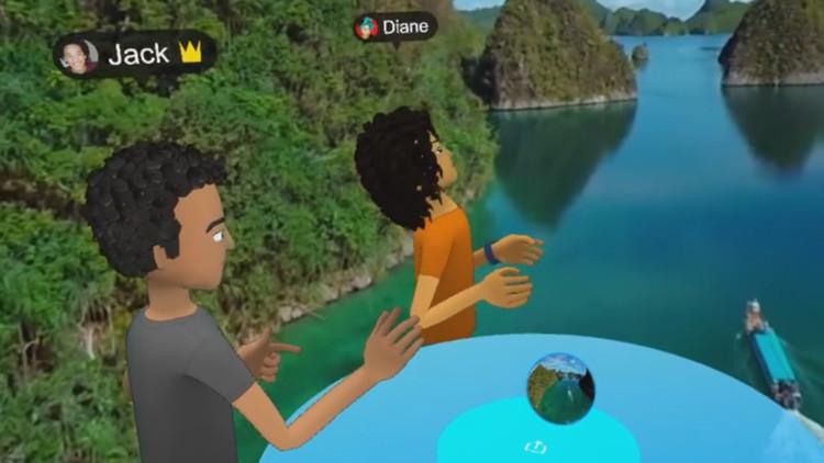 Video: Facebook presenta su nueva red social basada por completo en realidad virtual y aumentada