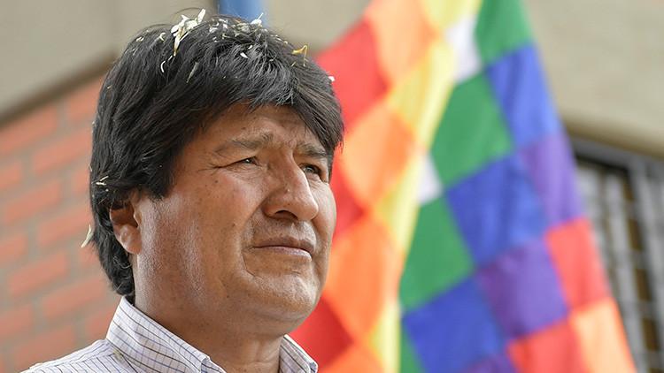 """Evo Morales: """"La humanidad está en peligro de desaparecer por un holocausto nuclear"""""""