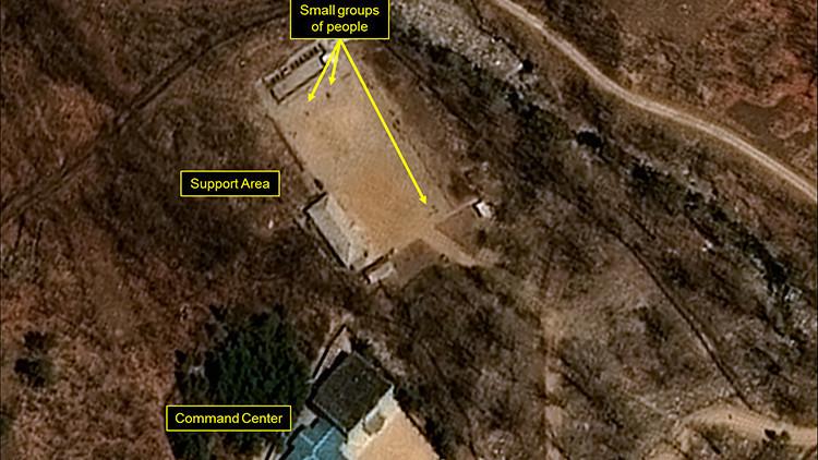 La actividad en un sitio de ensayos nucleares de Corea del Norte sorprende a los expertos de EE.UU.
