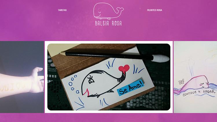 """""""Construir el bien"""": Crean el reto de la 'ballena rosa' para contrarrestar a la 'ballena azul'"""
