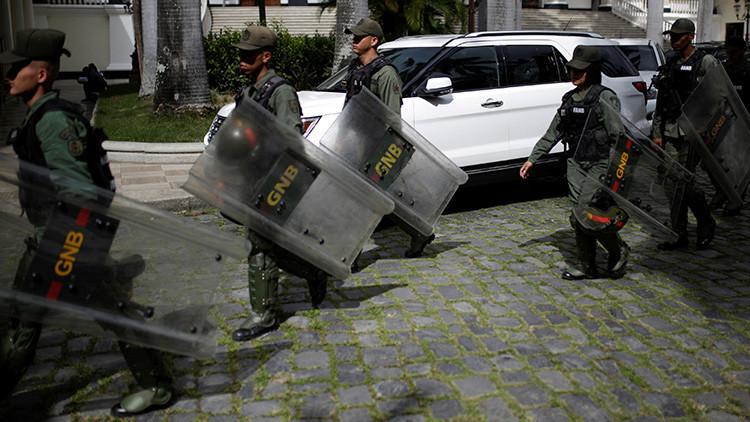 Matan a un sargento de la Guardia Nacional durante las protestas en Venezuela