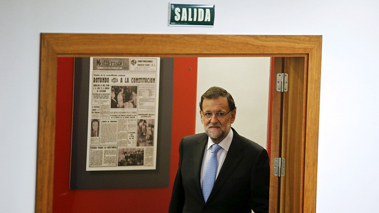 """""""¿Visión de futuro?"""": Una web belga informa por error del arresto de Rajoy"""