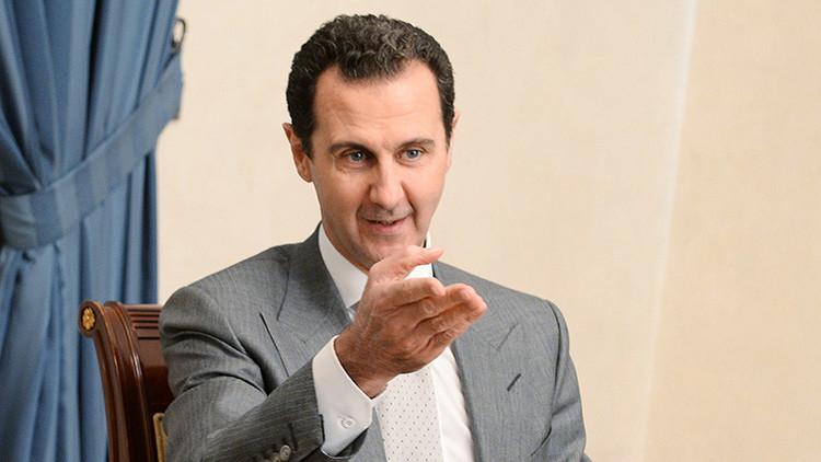"""Assad: """"no hubo ningún ataque químico en Jan Sheijun, se trata de una provocación"""""""