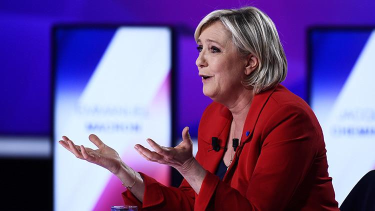 """Le Pen: """"Trump no cumplió su promesa en Oriente Próximo"""""""