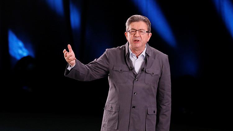 """""""¡Inglés no! ¡Español sí!"""": Un candidato a la presidencia francesa rechaza responder a la BBC"""