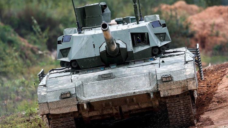 Fotos: Publican en la Red imágenes exclusivas del interior del tanque ruso Armata