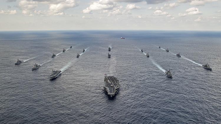 Destructores de Japón se unirán al portaaviones de EE.UU. que se dirige hacia Corea del Norte