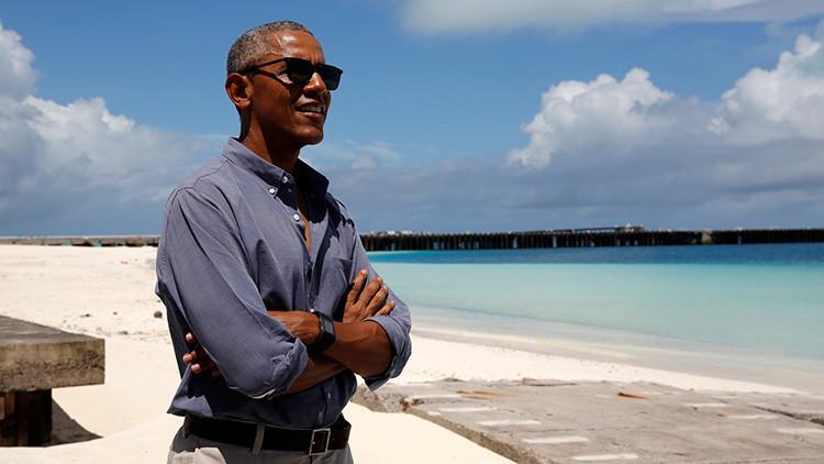 Obama evitará criticar a Trump en sus primeros eventos públicos y privados tras las vacaciones