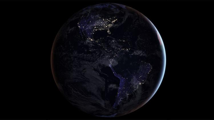 Un fascintante globo blanco: Así se nos ve a 1.400 millones de kilómetros de distancia (FOTO)