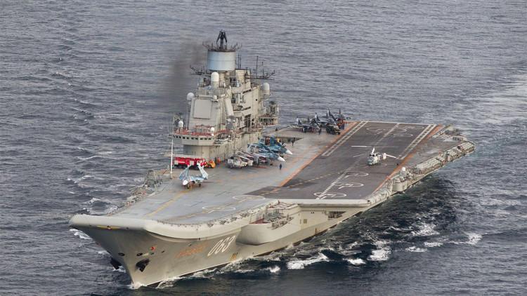 El portaviones ruso Admiral Kuznetsov será equipado con el moderno sistema Kalibr