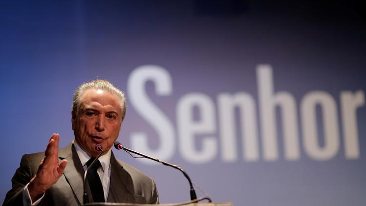 """Temer: Venezuela podría """"perder las condiciones de convivencia"""" en el Mercosur"""