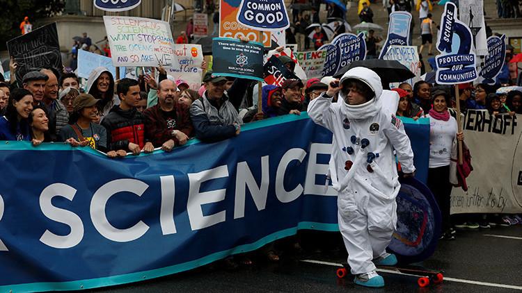 EE.UU. protesta contra los recortes de programas científicos despreciados por Trump