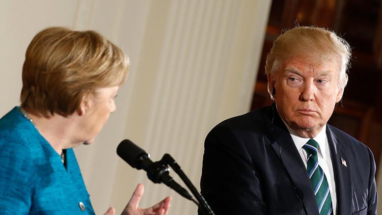 Merkel le explicó a Trump hasta 11 veces algo muy básico que no acababa de entender sobre la UE