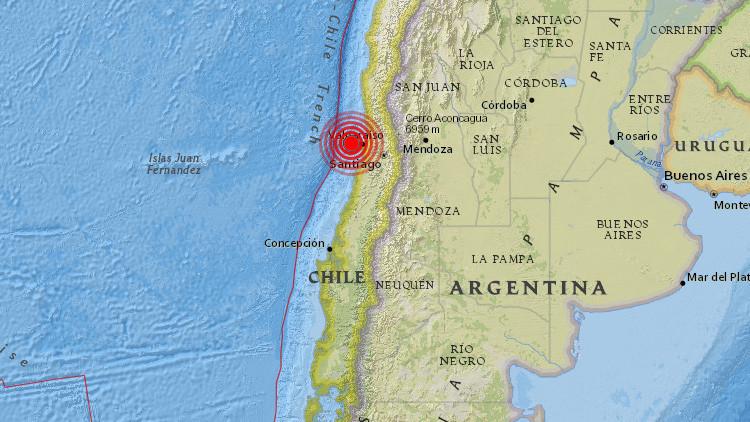 Un fuerte sismo de magnitud 6,1 sacude Chile