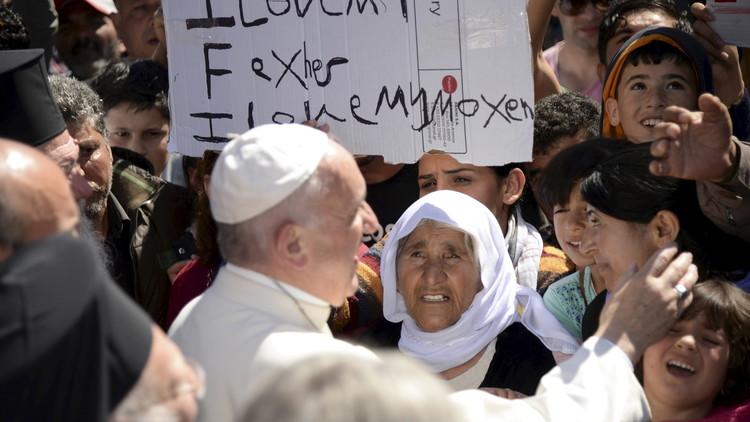 """Papa Francisco: """"Los centros de refugiados son campos de concentración"""""""