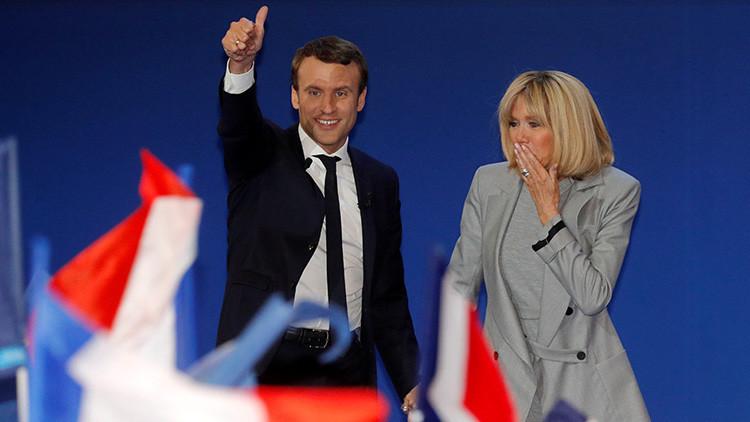 Macron pide que todos los franceses voten contra Le Pen