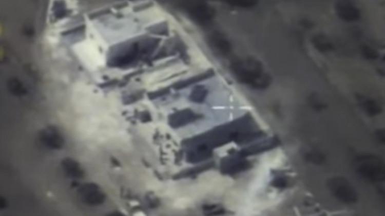 Vídeo: Una enorme bomba-trampa elimina a un grupo de terroristas en Siria