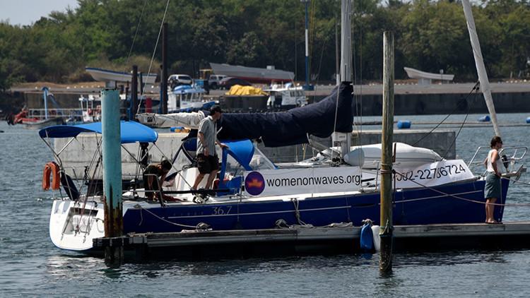 """El """"barco del aborto"""" holandés llega a las costas de México"""