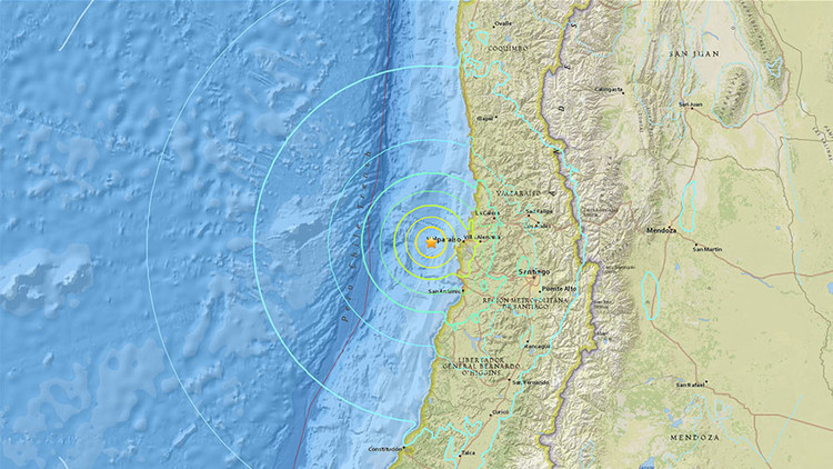 Un sismo de magnitud 6,9 sacude la zona central de Chile (FOTOS, VIDEO)