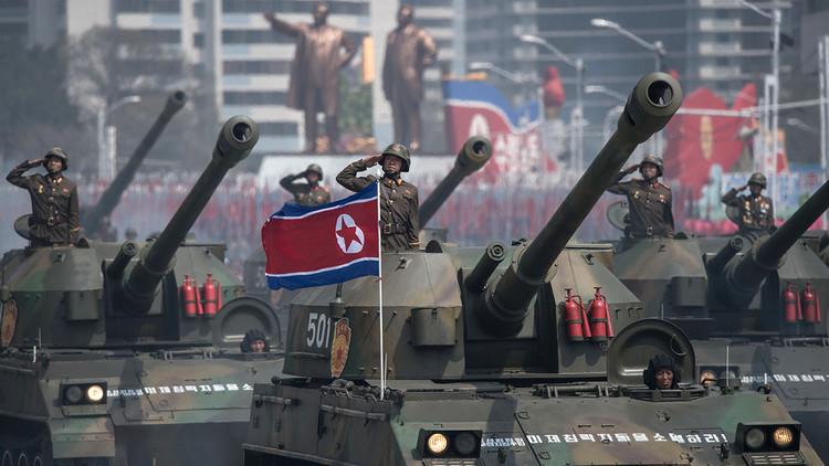 Pionyang lleva a cabo el mayor ejercicio de artillería de su historia