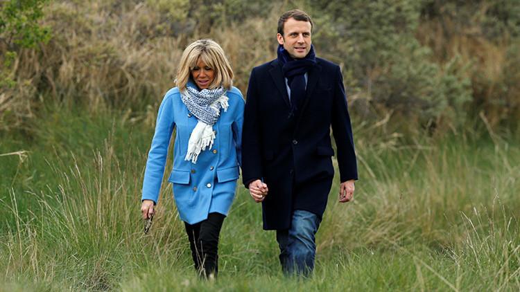 La profesora de secundaria de Macron podría convertirse en primera dama de Francia (FOTOS)