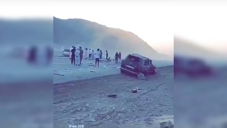 Príncipe saudita muere en un accidente de tráfico (Video)