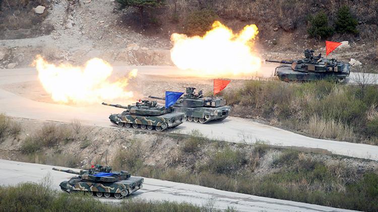 Listos para responder: Así fueron los ejercicios militares a gran escala de Corea del Sur y EE.UU.
