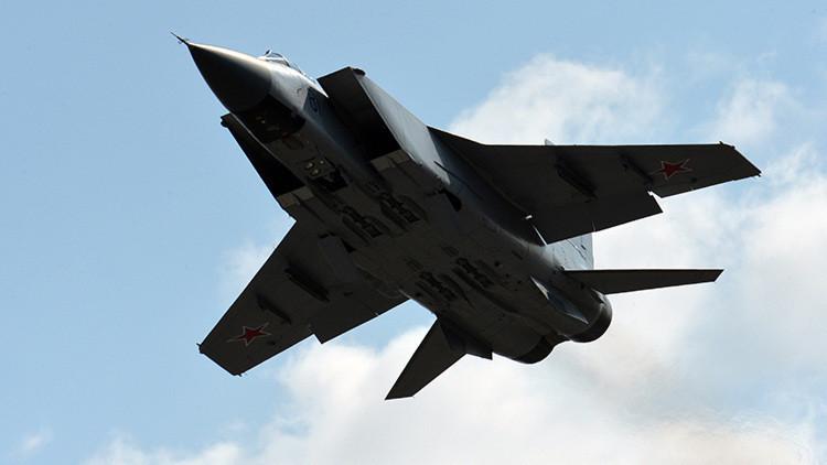 Un caza ruso MiG-31 se estrella en Siberia