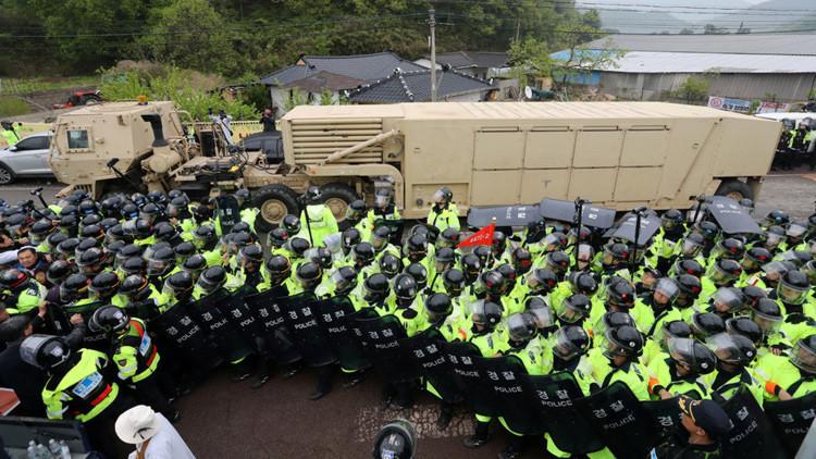 """EE.UU.: """"El sistema THAAD estará operativo en Corea del Sur en los próximos días"""""""