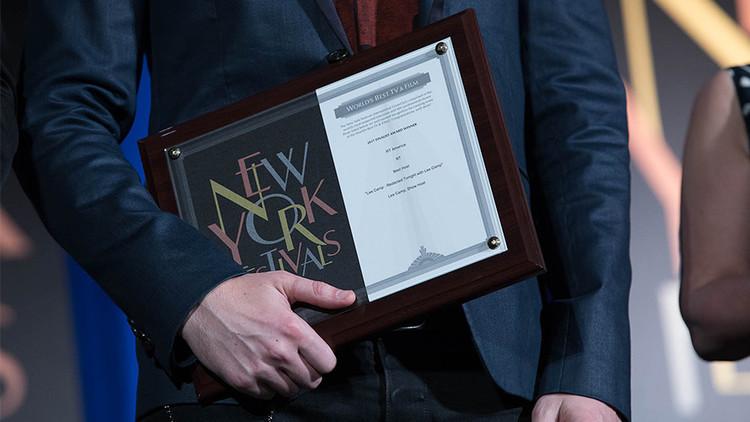 RT gana 9 premios en los prestigiosos New York Festivals