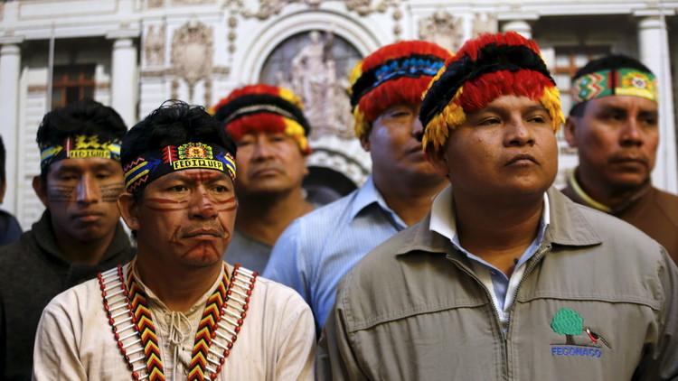 Indígenas del Perú ocupan el lote 192 para exigir pago de compensación a petrolera