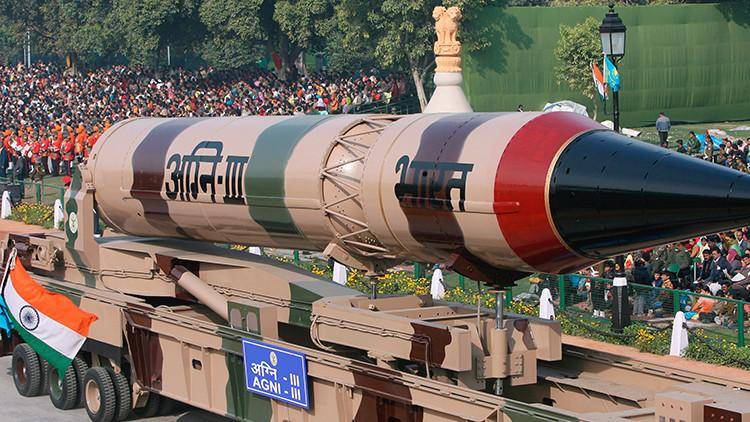 India realiza un ensayo exitoso con el misil intercontinental Agni-III