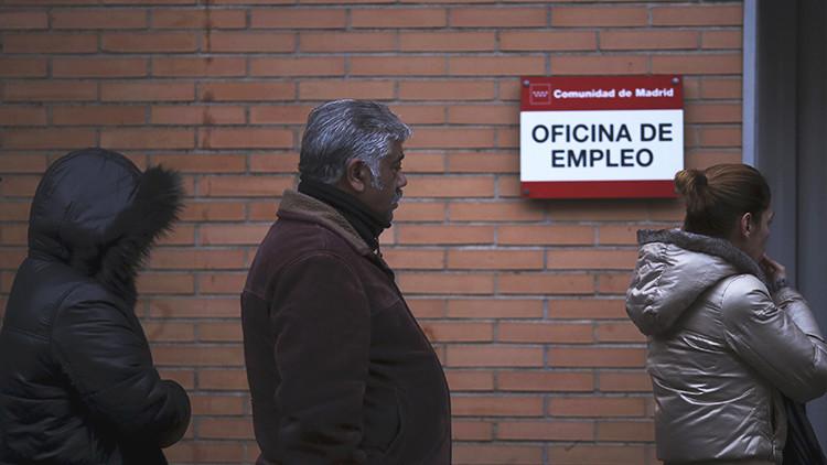 España: el paro aumenta en 17.200 personas durante el primer trimestre del año