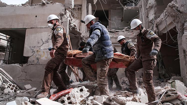 """La Cancillería rusa: """"Los Cascos Blancos prestan apoyo a los terroristas en Siria"""""""