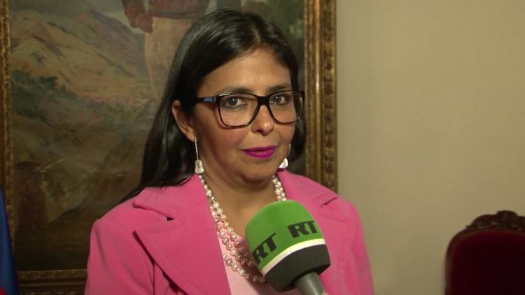"""Delcy Rodríguez a RT: """"La OEA es un instrumento de EE.UU. para someter a los países"""""""