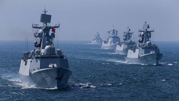La Armada de China realiza maniobras navales en el Pacífico occidental