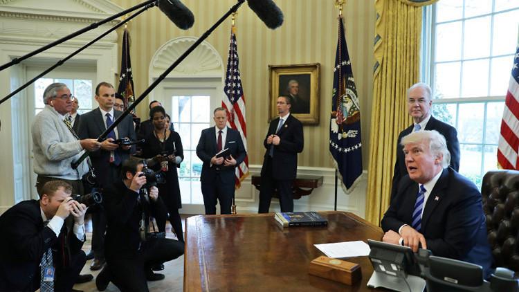 """""""Pensaba que sería más fácil"""": Trump relata cómo es la vida de un mandatario de EE.UU."""