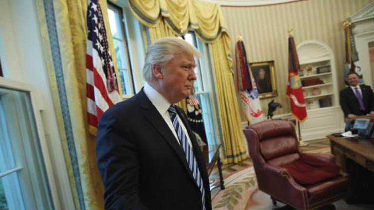 """Trump: """"Si hay un 'cierre' del Gobierno, hay un 'cierre' del Gobierno"""""""